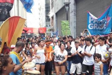 Un mensaje a Garavano: marcha al Ministerio de Justicia contra la baja de la edad de imputabilidad