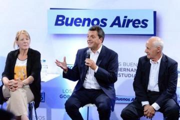 Massa inauguró una escuela de formación política con críticas al Gobierno