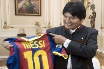 El Presidente de Bolivia respaldó a Argentina y repudió la sanción a Messi