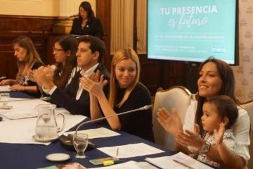 Diputados del FpV-PJ presentaron el proyecto de ley de Protección para la Primera Infancia