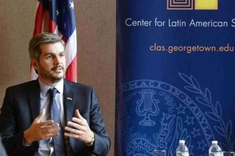 Peña pidió resolver la inserción internacional — De manera inteligente
