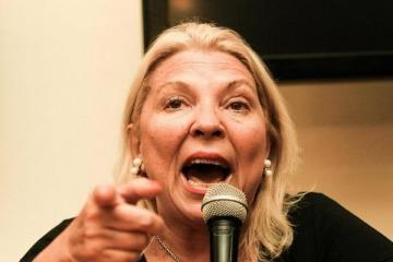 Carrió pidió la impugnación de la candidatura de Menem