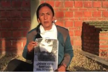 Milagro Sala envió un video pidiendo por Santiago Maldonado desde la prisión domiciliaria