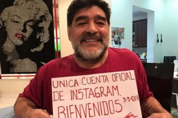 Maradona explicó la supuesta contradicción por apoyar a Menem y Cristina
