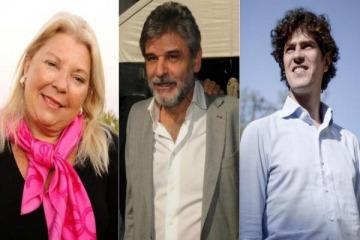 Carrió, Filmus y Lousteau debatirán en televisión