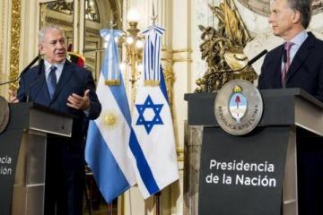 Macri se reunió con el primer ministro de Israel en Casa de Gobierno