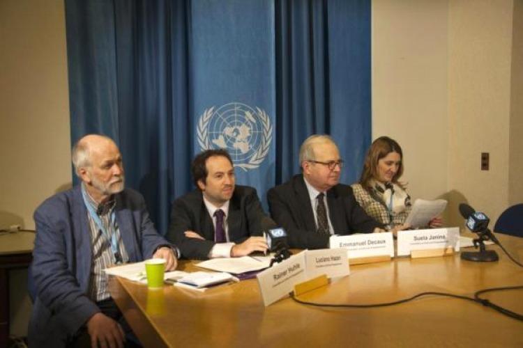 Un organismo de la ONU negó haber felicitado al Gobierno — Papelón internacional