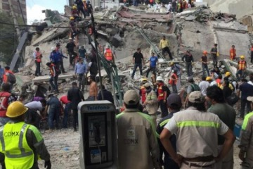 Una gran cantidad de argentinos no se han podido comunicar tras el sismo en México