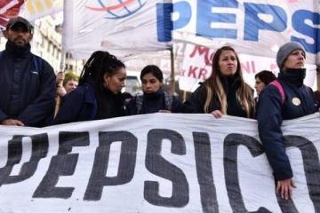 Los trabajadores de Pepsico que fueron despedidos presentaron un proyecto de expropiación en el Congreso