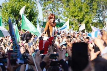 """Cristina Kirchner: """"No queremos tener un Presidente que tenga listas negras"""""""