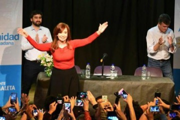 "Cristina Kirchner: ""En 2019 tenemos que poner en Casa Rosada a alguien que los vuelva a representar a ustedes"""