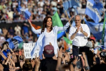 Las mejores fotos del acto de Cristina Kirchner en Racing