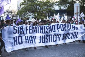 Más de 70 mil mujeres se organizaron para ponerle un freno al patriarcado