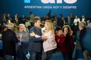 Tambalea 1País: Massa piensa en volver al peronismo, y Stolbizer intercambia alabanzas con Vidal