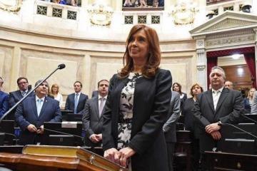 Cristina presentó su bloque en el Senado y será presidido por un  neuquino
