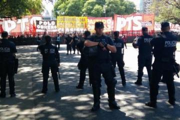 La Justicia dio lugar a la cautelar de Recalde para resguardar la seguridad de los manifestantes