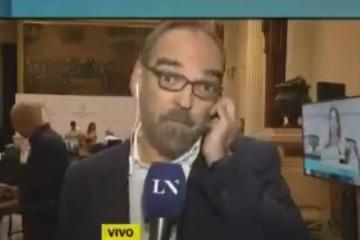 Desbocado: un diputado macrista no soportó una crítica y comparó a La Nación con 678