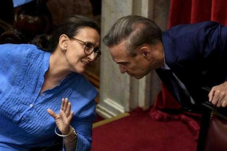 Cristina desafió a los senadores: