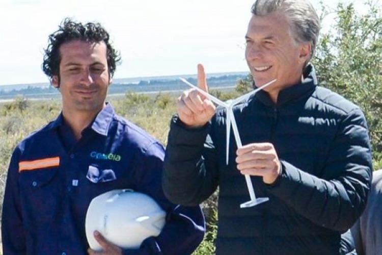 Denuncian a los Macri por negocios irregulares con los parques eólicos