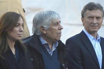 Hugo Moyano justificó la ausencia de Macri a la inauguración del sanatorio de Camioneros