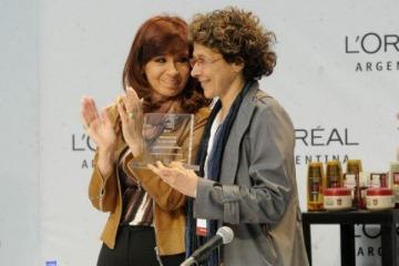 Cristina desmintió a Macri sobre las inversiones de L'Oréal en Argentina