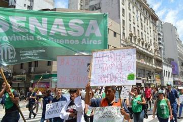 ATE y la CTA Autónoma convocaron a un paro nacional para el 15 de febrero