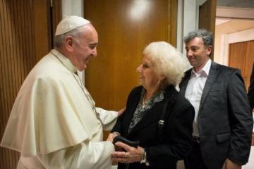 """Estela de Carlotto: """"El Papa está muy preocupado por Argentina"""""""