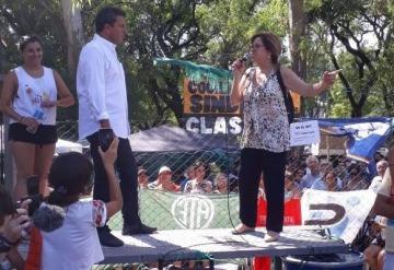 Massa y Camaño acompañaron a los trabajadores despedidos del INTI