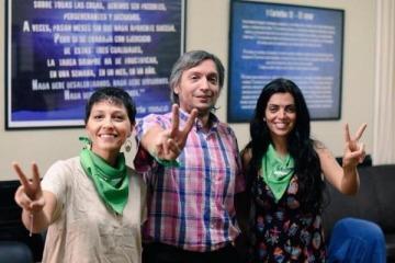 Fuerte pronunciamiento de Máximo Kirchner a favor del aborto legal, seguro y gratuito