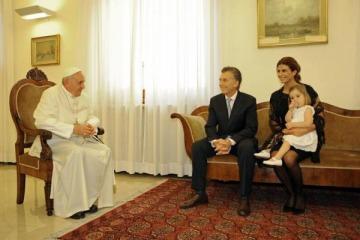 Macri le mandó una carta al Papa Francisco al cumplirse 5 años de su asunción