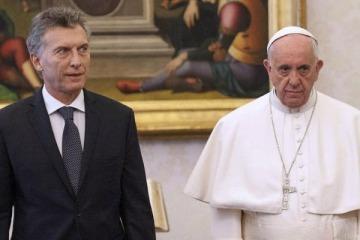 """El Papa Francisco a Macri: """"Le pido que trabaje en la búsqueda de la unidad"""""""