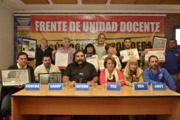 """Vidal contra los docentes: """"No estamos viendo que el aumento salarial que plantean sea posible"""""""