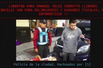 Hackearon a la Policía de Larreta en reclamo de la liberación del hacker de Bullrich