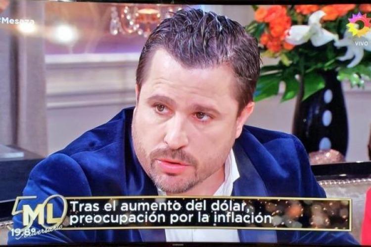 Picante enfrentamiento entre Coco Sily y Martín Tetaz