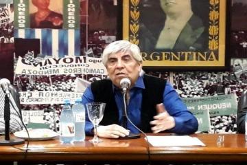 Moyano confirmó que el jueves habrá paro nacional de Camioneros