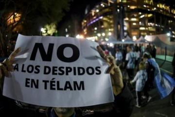 Las denuncias por los despidos en Télam llegan a la ONU