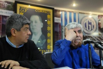 """Pablo Moyano le pidió al Gobierno """"que se banquen la reacción de los trabajadores"""""""
