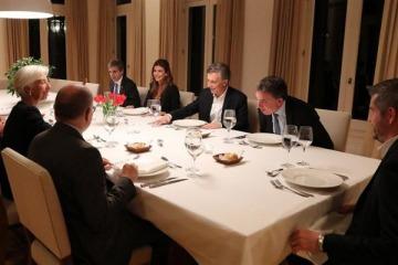Lagarde elogió el ajuste del Gobierno y respaldó a Dujovne y Caputo
