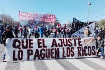 Organizaciones se movilizan en todo el país para pedir al Gobierno que abra la paritaria social