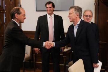 Macri recibió al presidente del Grupo Shell en medio de los aumentos de los combustibles
