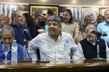 """Pablo Moyano: """"Macri nos responde al paro bailando con el FMI"""""""