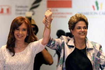 ¿Contracumbre del G20 en Buenos Aires de la mano de Cristina y Dilma?