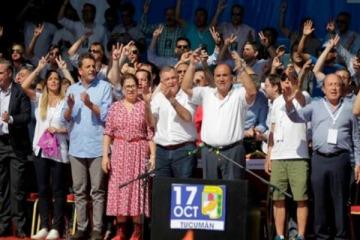 """Fuerte mensaje en Tucumán por un peronismo unido """"sin excepciones"""" en 2019"""