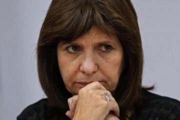 """Patricia Bullrich: """"Los actos de violencia estuvieron totalmente armados"""""""