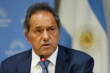"""Scioli vuelve a escena por la unidad del peronismo y avisa que """"una derrota no te excluye"""""""
