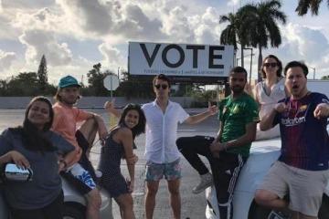 """Andres Chong Qui Torres: """"las elecciones le dijeron a Trump que pare con el discurso del odio"""""""