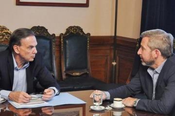 """Frigerio felicitó a Pichetto por ser """"fundamental"""" para que Cambiemos apruebe más de 200 leyes"""