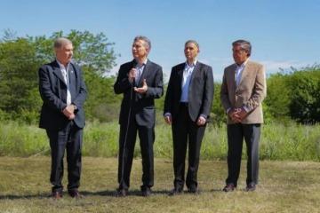 Macri prometió un Parque Nacional pero terminó anunciando una Reserva Ambiental