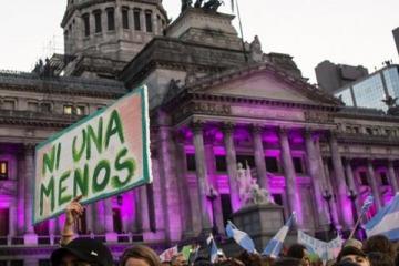 El movimiento feminista se movilizará este lunes en la Ciudad de Buenos Aires