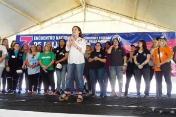"""""""Trabajadoras en unidad contra el ajuste y el FMI"""", la consigna del Tercer Encuentro de Mujeres Sindicalistas"""